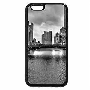 iPhone 6S Case, iPhone 6 Case (Black & White) - chicago, bridge