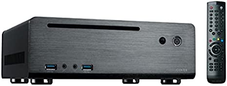 MS-Tech MC-80BL - Caja HTPC (120 W, mando a distancia, USB), negro: Amazon.es: Informática