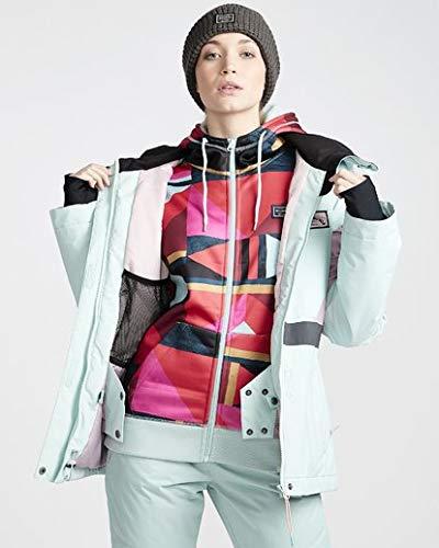 Billabong Women's Say What Snow Jacket Blue Medium