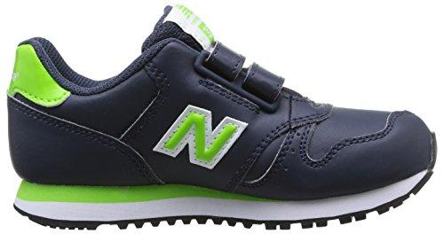 New Balance Kids Lifestyle 373 mixte enfant, cuir lisse, sneaker low