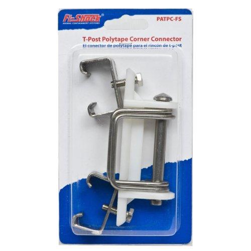 Fi-Shock PATPC-FS T-Post Polytape Corner Insulator