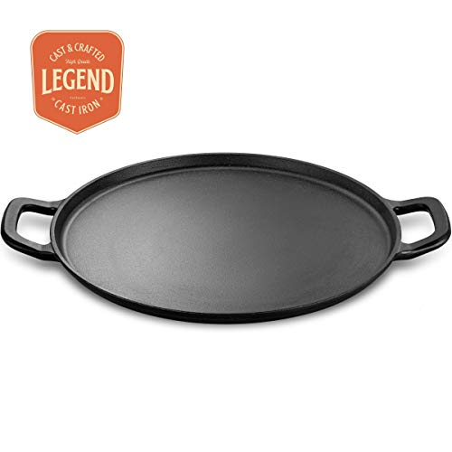 """Legend Cast Iron Pizza Pan 