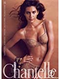 **PRINT AD** With Brenda Costa In Tan Lingerie For Chantelle Products
