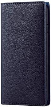 エレコム iPhone 8 ケース iPhone7 対応 手帳型 レザー Coronet イタリアンレザー 【スーツに似合うスマートケース】 ロイヤルネイビー PM-A17MPLFYIL03