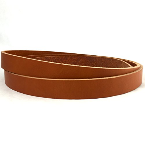 Springfield Leather Company's English Tan Bridle Strip, (Bridle Tan Leather)