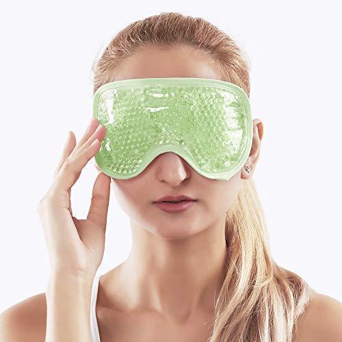 Cooling eye mask for puffy eyes