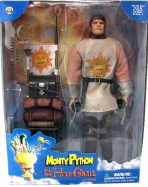 Monty Python Helmet - Patsy doll Terry Gilliam from Monty Python and the Holy Grail