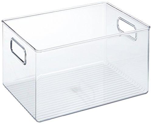 🥇 iDesign Caja transparente con asas