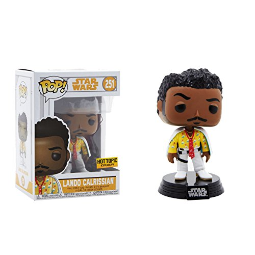 Solo A Star Wars Story Funko Pop  Star Wars Lando Calrissian Exclusive Vinyl Bobble Head  251