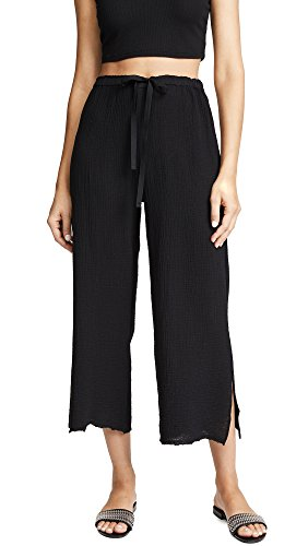 Velvet Women's Rimma Cropped Pants, Black, Small ()