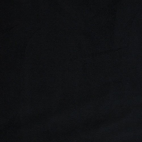 (Premium Stretch Corduroy 16 Wale Fabric BLACK 58