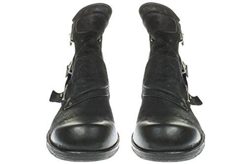 As98 409.206-0.101 - Uomini Scarpe Stivali Bootee - 6002-nero