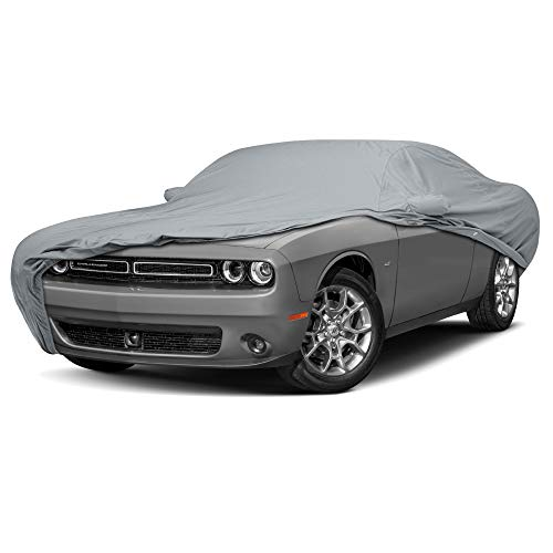 Challenger Hardtop - 3 Layer Custom Fit Car Cover for Dodge Challenger Model Year 2008-2018
