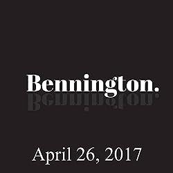Bennington, April 26, 2017