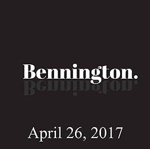 Bennington, April 26, 2017 Radio/TV Program