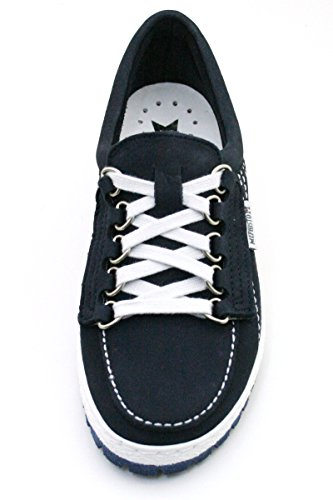 Mephisto Lady Patent Black Womens Shoes Navy