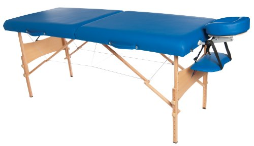 3B Scientific W60602B-1 Wood Deluxe Portable Massage Tabl...