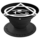 ll Seeing Eye Esoteric PopsocketTriangle Enlightenment - PopSockets Grip and Stand for Phones and Tablets