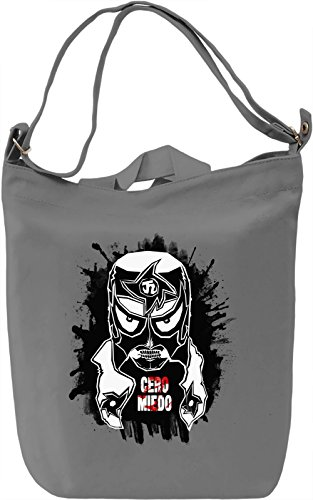 Cero Miedo Borsa Giornaliera Canvas Canvas Day Bag| 100% Premium Cotton Canvas| DTG Printing|