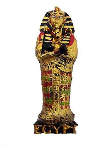 Egyptian Pharaoh Souvenir King Tut Tomb Handmade Hand Painted Refrigerator Fridge 3