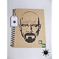 Cuaderno artesanal Walter White Breaking Bad