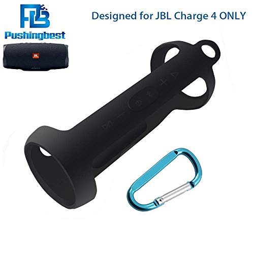 Silicone Case for JBL Charge 4 Portable Waterproof Wireless Bluetooth Speaker by Pushingbest -
