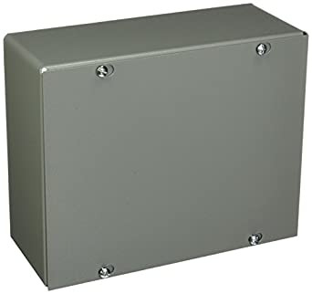 Wiegmann sc081004nk SC-series NEMA 1 tornillo para montaje de pared caja de paso,