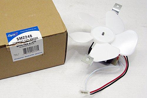 Supco Range Hood Fan Motor for Vented Models Broan Nautilus BP17 97012248 99080492