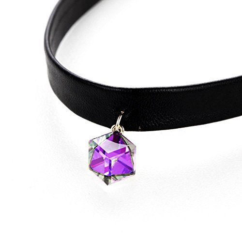 gorgeous-jewelry-square-shape-dazzle-colour-aurora-borealis-crystal-leather-string-choker-necklace