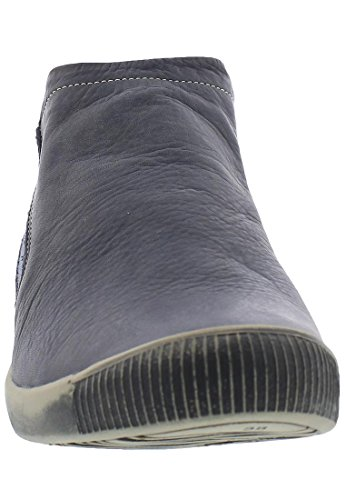 SoftinosInge - botas sin cordones mujer Navy