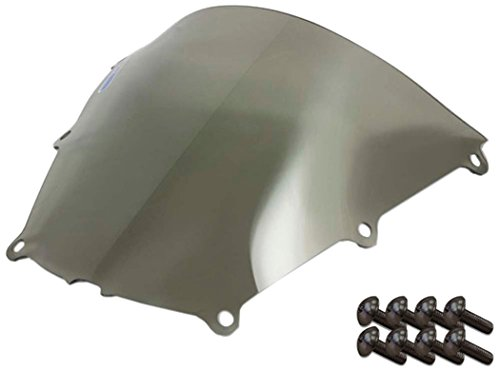 Sportbike Windscreens ADHW-102S Smoke Windscreen (Honda Cbr 600RR (05-06) With Silver screw kit), 2 Pack