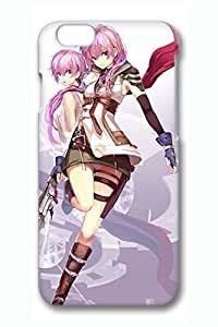Anime Cool Girl 2 Cute Hard Cover For Iphone 4/4S Cover Case PC 3D Cases