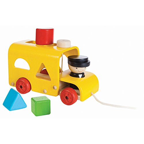 Plan Toy Sorting Bus - Shape Sorting Bus