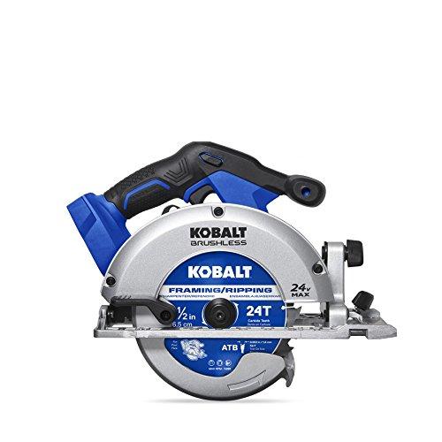Kobalt 24-Volt Max 6-1/2-in Cordless Circular Saw Brake