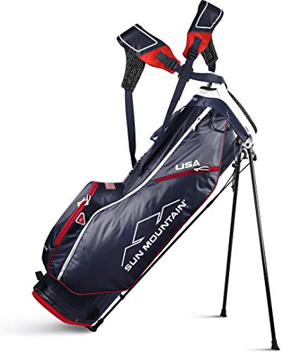 Sun Mountain 02SM257 NVRD 2019 2.5+ Stand Bag Navy/Red, Navy|Red, Large