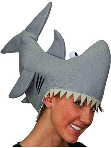 Jacobson Hat Company Grey Shark Hat, Grey, Medium