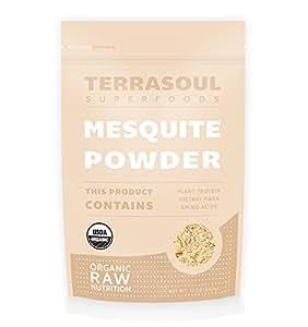 Terrasoul Superfoods Mesquite Powder (Organic) (12 Ounces)