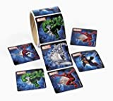 100 ct - MarvelTM Super Hero Roll Stickers