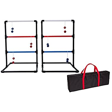 Trademark Innovations PVC Ladderball Toss Game with Carry Case