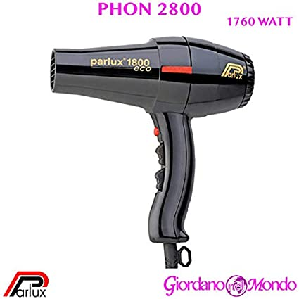 secador de pelo 2800 secador de pelo Turbo Eco parlux 1760 W Profesional para peluquería