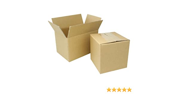 20 10x6x4 Cardboard Packing Mailing Moving Shipping Boxes Corrugated Box Cartons