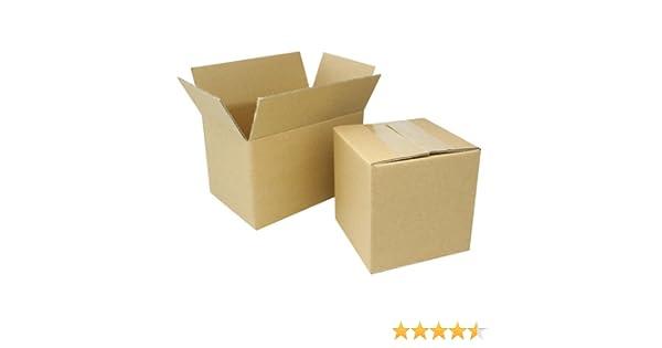 "1 8x5x5 /""EcoSwift/"" Brand Cardboard Box Packing Mailing Shipping Corrugated"