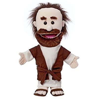 "14"" Joseph, Bible Character, Hand Puppet: Toys & Games"