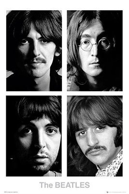 The Beatles - White Album Poster (24x36) PSA034214