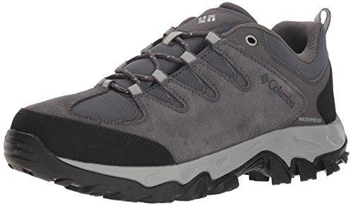 - Columbia Men's Buxton Peak Waterproof Hiking Shoe Dark Grey, lux 11 Regular US