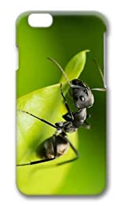 MOKSHOP Adorable Black Ant Hard Case Protective Shell Cell Phone Cover For Apple Iphone 6 Plus (5.5 Inch) - PC 3D