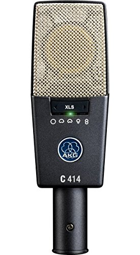 AKG Pro Audio C414 XLS Instrument Condenser Microphone, Multipattern by AKG Pro Audio