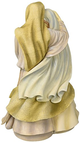 Foundations Holy Family Masterpiece Stone Resin Figurine, 12