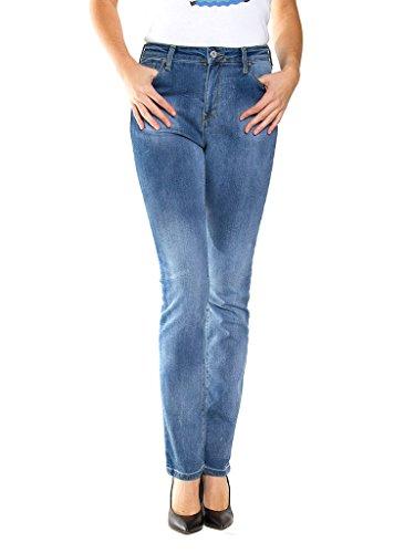 Carrera Jeans - Jeans 753 per donna, modello a sigaretta, look denim, tessuto elasticizzato, vestibilit