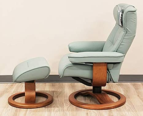 Astonishing Amazon Com Fjords Regent Large Leather Recliner Chair And Ocoug Best Dining Table And Chair Ideas Images Ocougorg